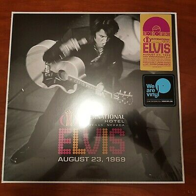 ELVIS PRESLEY - Live At The International Hotel LAS VEGAS 1969 2019 RSD LP
