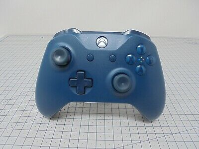 Genuine Official Microsoft Xbox One S Wireless Controller - Deep Blue - XBDB