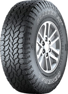 Gomme 4x4 Suv 235/70 R16 General Tire 110/107S Grabber AT3 OWL pneumatici nuovi