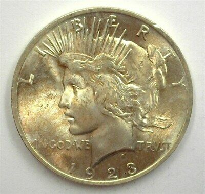 1923 Peace Silver Dollar Gem+ Uncirculated Rare This Nice!
