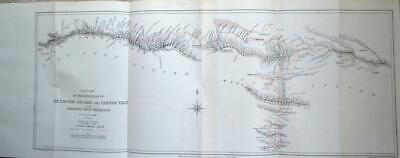 EXPEDITION TO THE TIAN-SHAN, NAN-SHAN & EASTERN TIBET 1891 Central Asia RGS Map