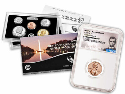 2019 US Silver Proof Coin Set 2019W Rev PF Cent NGC GEM PF FDI PRESALE SKU57887