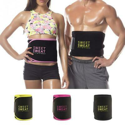 e8382a8ccaa Sweet Sweat Waist Trimmer Belt Burn Fat Easy Weight Loss Workout Slimming  Band