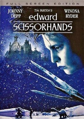 Edward Scissorhands (DVD, 2005, Full Screen Anniversary Edition Bilingual)