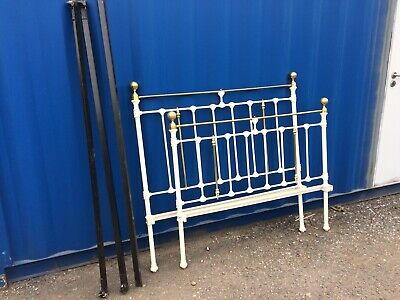 Antique Victorian Double Bed Frame