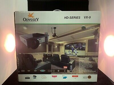 ODYSSEY CINEMA CONCEPTS VX-9 HD 4K 3D Home Theater Projector