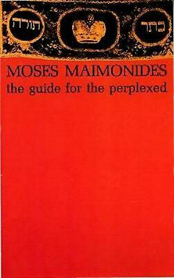 The Guide for the Perplexed by Moses Maimonides (English) Paperback Book Free Sh