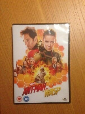 ant- man and the wasp DVD (2018) New And Sealed
