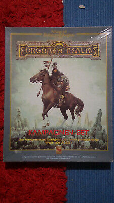 Forgotten Realms Kampagnen Set Advanced Dungeons & Dragons AD&D 2. Edition