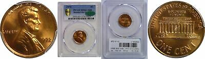 1972/72 Lincoln Cent PCGS MS-66+ RD CAC Doubled Die Obverse