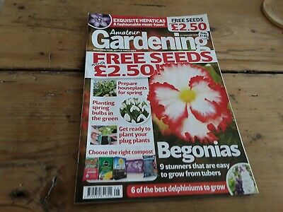 Amateur gardening magazine without seeds Feb 2019