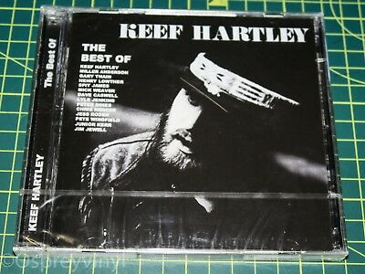 The Best Of Keef Hartley Band Factory Sealed Double Cd Album TECD295 Brand New