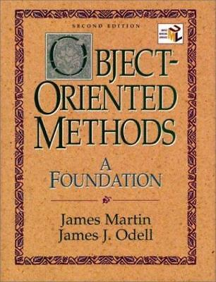 Object-Oriented Methods: A Foundation, UML Edition (2nd Edition) by Martin, Jam