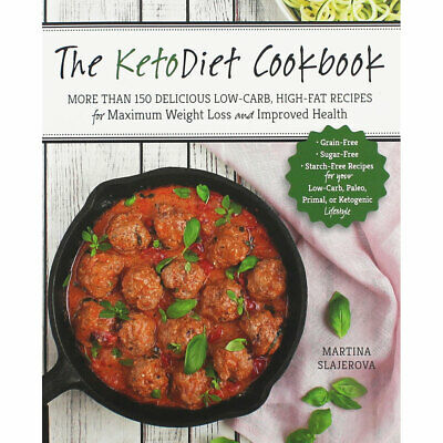 The Keto Diet Cookbook by Martina Slajerova (Paperback), Non Fiction Books, New