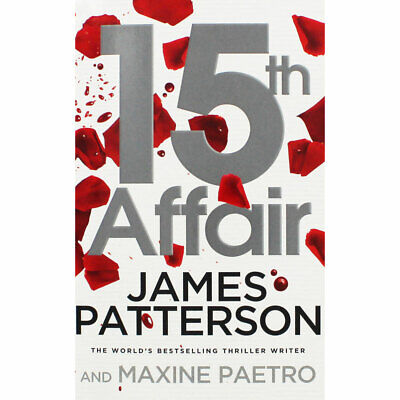 15th Affair by James Patterson (Paperback), New Arrivals, Brand New