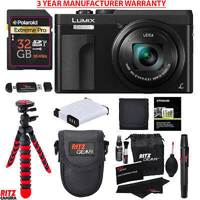 Panasonic DC-ZS70K Lumix 20.3MP 4K Digital Camera Bundle + Manufacturer Warranty