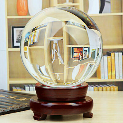 Natural Quartz Clear Magic Crystal Healing Ball Sphere 80mm 100mm 120MM 150MM
