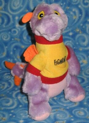 Rare 1982 Figment Disneyland Walt Disney World Parks Plush Collectors Quality
