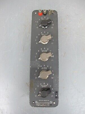 GR General Radio Decade Resistor Resistance Box Type 1432-N