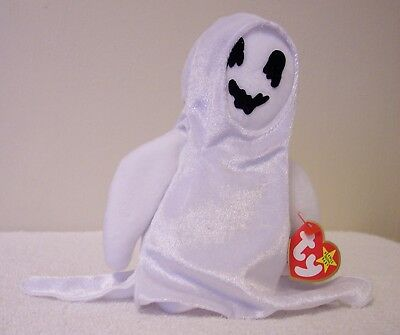 "Ty Beanie Babies Collection   ""sheets""    Ghost"