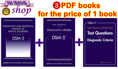 DSM-5 Diagnostic and Statistical Manual of Mental Disorders 5th Edition - PDF