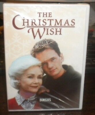 New Sealed The Christmas Wish (DVD, Families, 2006)d Neil Patrick Harris OOP