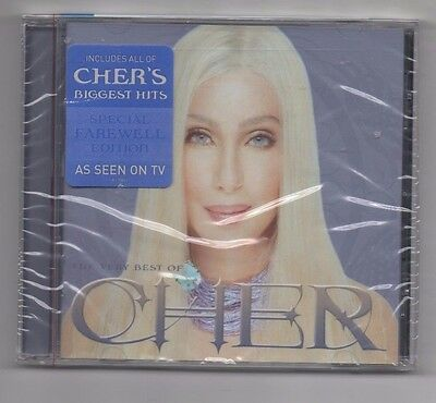 Cher The Very Best of Cher CD Greatest Hits Believe, If I could turn back time