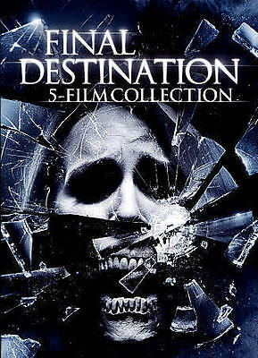 5 Film Collection: Final Destination DVD brand new FREE FAST SHIPPING