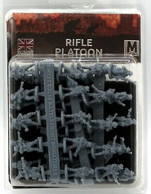 Flames of War BR733 Rifle Platoon [Plastic] (British) WWII Infantry Armored Fist