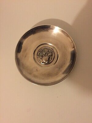 """Vintage Silver Plated Small Plate 6""""/15 Cm Good Condition"""