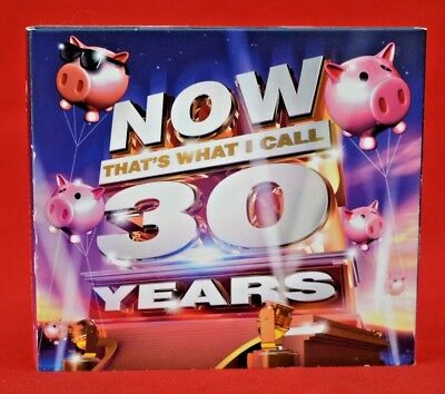 Now That's What I Call 30 Years 3 Cd Set - 2013 - Great Condition!   Polypak Set