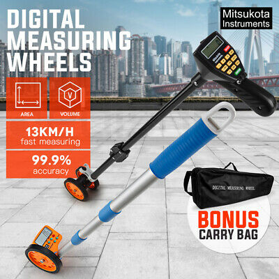Mitsukota Digital Measuring Wheel Measure Distance Tape Surveyor Rolling Walking
