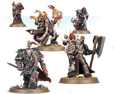 Chaos Space Marines miniatures: Masters of Ruin