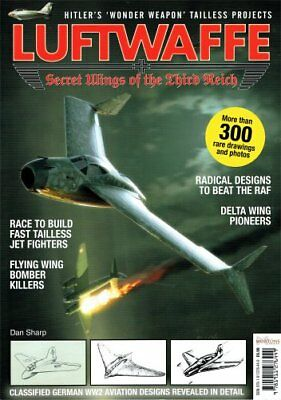 Mortons - Luftwaffe - Secret Wings of the Third Reich - 130 Pages. (Book)