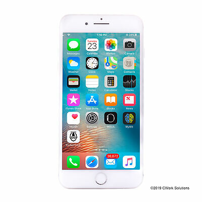 Apple iPhone 8 Plus a1897 64GB Silver LTE GSM Unlocked - Very Good