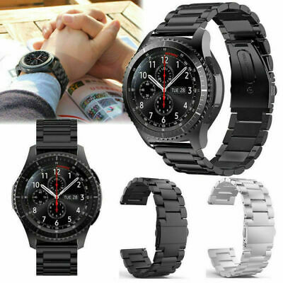 New Stainless Steel Strap Watch Band For Samsung Galaxy Gear S3 22mm Classic