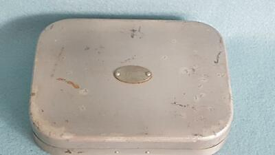 Incredible Mid-C20th Cent Hardy Bros (Alnwick) Aluminium Fishing Fly Box w Flies
