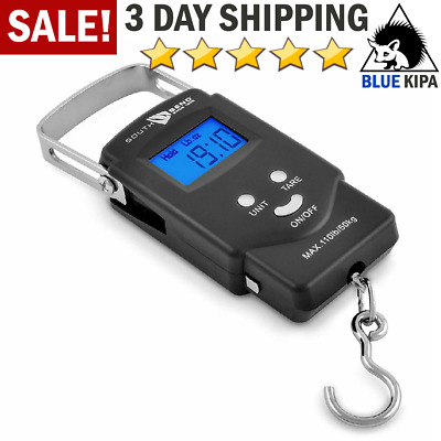 Portable Digital Fishing Scale Fish Hook Hanging Scale Electronic Luggage Weight