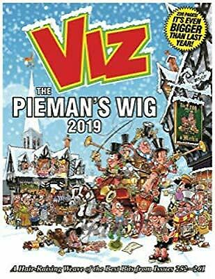Viz Annual 2019 The Piemans Wig: A Hair-Raising Weave of the Best Bits from Issu