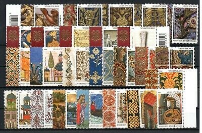 GREECE , MOUNT ATHOS , 2008 , 2013 , 2014 , 2015 , LOT of FIVE NICE SETS , MNH !