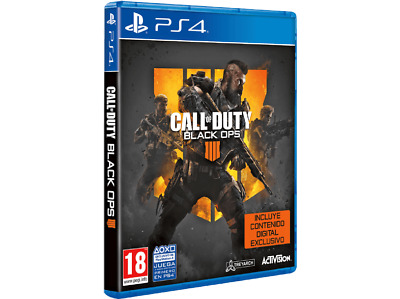 Videojuego PS4 Call of Duty: Black Ops 4