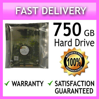 750Gb New 2.5 Laptop Hard Drive Hdd Disk For Msi Cr610 Cr620 Cr630 Cr640 Cr643