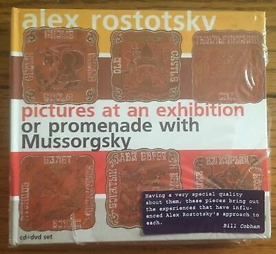 Alex Rostotsky - Pictures At An Exhibition or Promenade With Mussorgsky CD+DVD