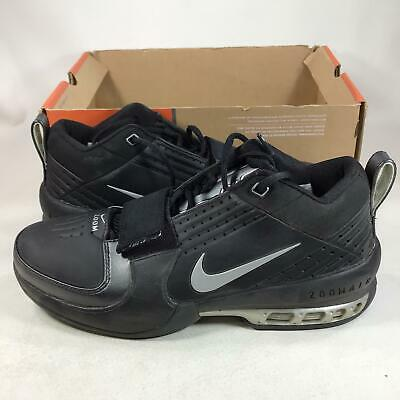 2004 Nike Air Zoom Drive Black Silver 308561001 Size 9,NEW, K11