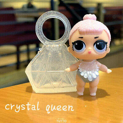 With bag dress LOL Surprise LiL Sisters L.O.L. Crystal Queen SERIES 2 Dolls Gift
