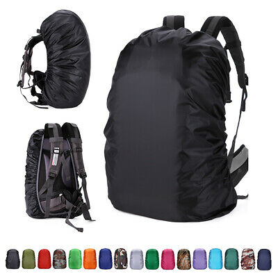 Rain Waterproof Cover Bag for Backpack Rucksack Traval Camp Hiking 20-80L Lot