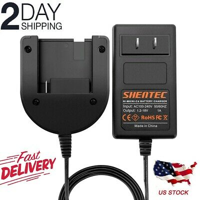 For Porter Cable Battery Charger Nimh/Nicd Slide-In Pc18B Pcc489N 1.2V-18V