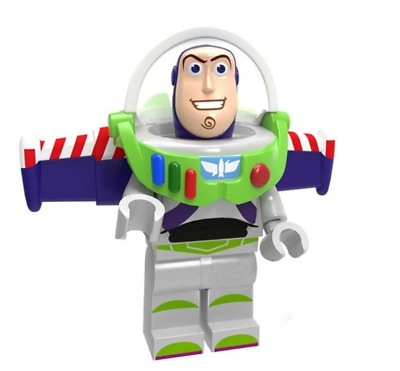 Buzz Lightyear Toys Story Cartoon Woody Building Blocks Mini Figure Toy DIY Play