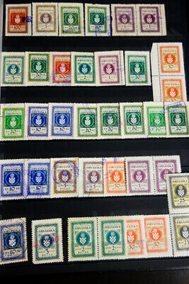 Slovenia Cinderella and Revenue Stamp Collection Mint & Used Rare