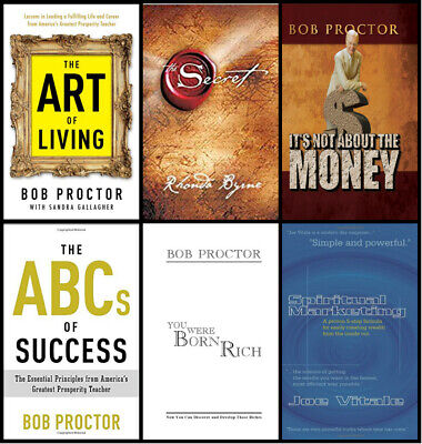 "Bob Proctor  /abc+the Art of living+is not about money+..8 EBooks Kit""PDF"""